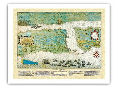 Classic Map Framing Prints - Framing a map print